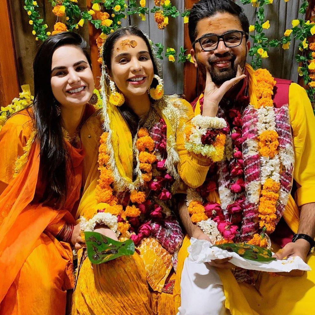 In pictures: Sana Sarfaraz makes a gorgeous mayun bride
