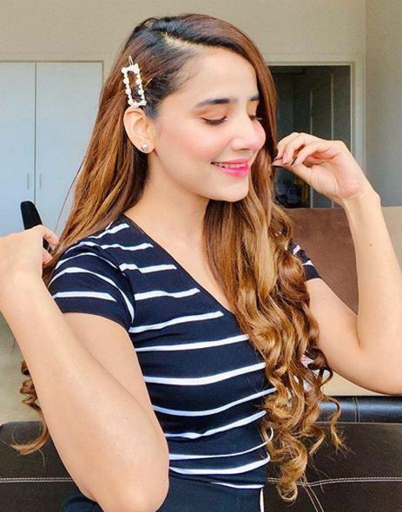 Latest Beautiful Pictures of Saniya Shamshad