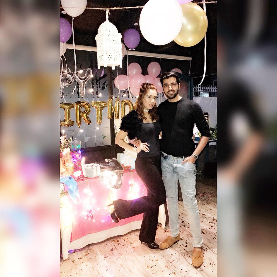 Furqan Qureshi Latest Clicks With His Wife Sabrina Naqvi