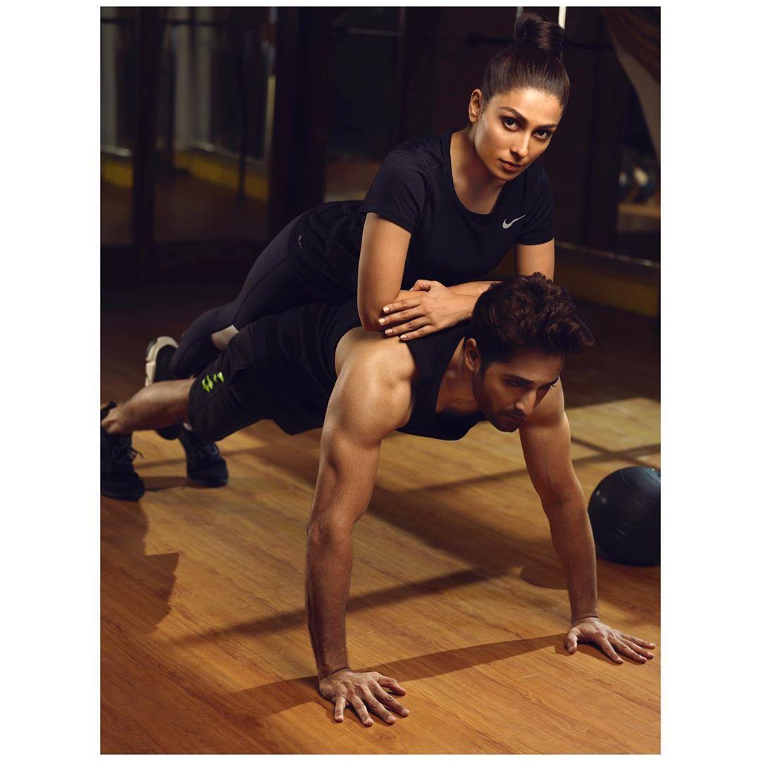 Ayeza Khan and Danish Taimoor's Latest Photo Shot for Structure Health & Fitness