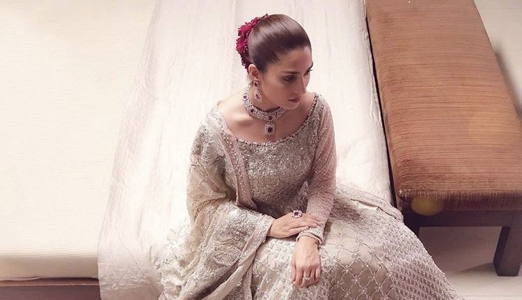 Bridal Dress Wore By Ayeza Khan In MPTH Cost RS 1 Million