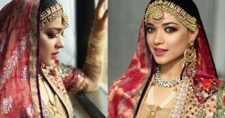 Beautiful Bridal Photoshoot of Sanam Jung
