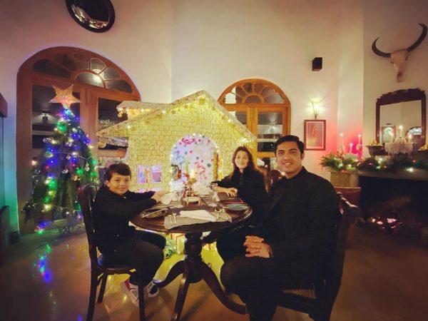 Iqrar ul Hassan with Family from Sri Lanka