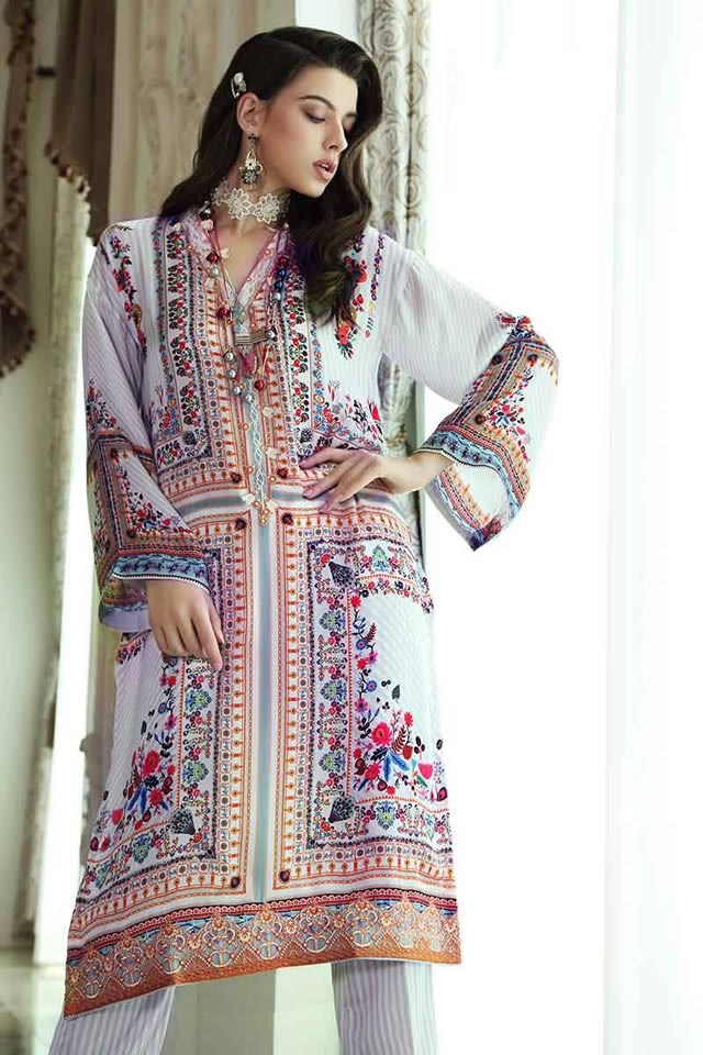 Gul Ahmed Winter silk Collection 2020
