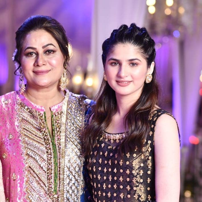 Celebrities Spotted at the Wedding of Actress Nida Mumtaz Daughter