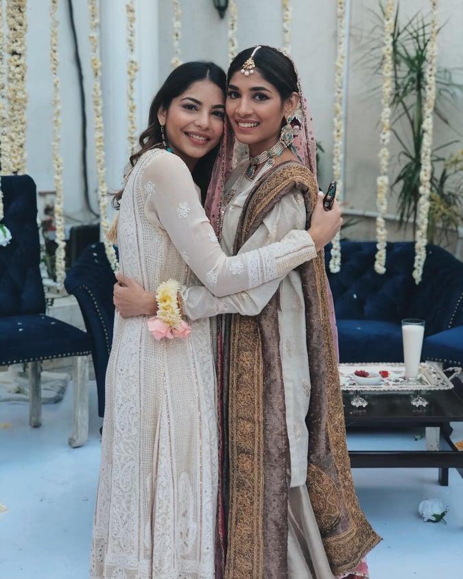 Sanam jung Sister Amna Jung Nikkah Ceremony Pictures
