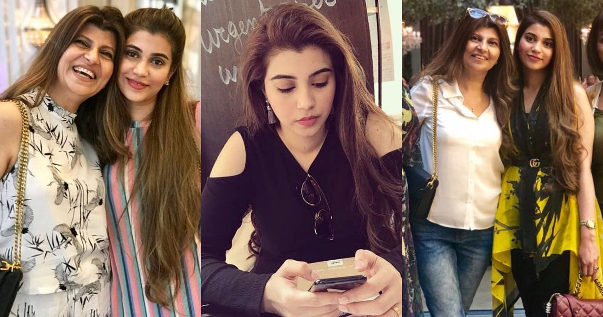 Awesome Pictures of Actress Rubina Ashraf Daughter Minna Tariq