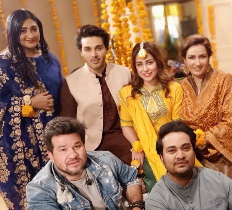 Clicks from the Shoot of upcoming Drama Serial Bandhe Ik Door Se