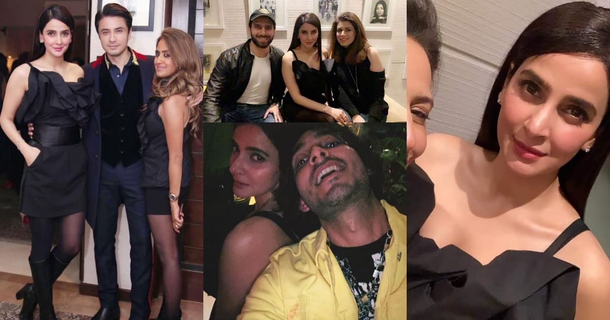 Awesome Saba Qamar Pictures from Birthday Party