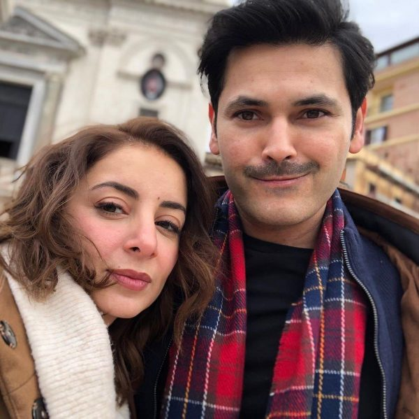 Awesome Pictures of Sarwat Gilani and Fahad Mirza from Rome