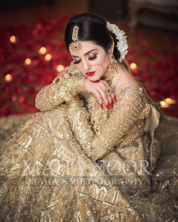 New Bridal Photoshoot of Awesome Actress Sarah Khan