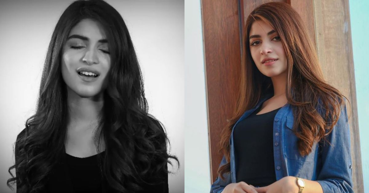 Kinza Hashmi Suprised Her Fans With Cover Song