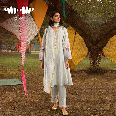 Khaadi Trendy Pret wear