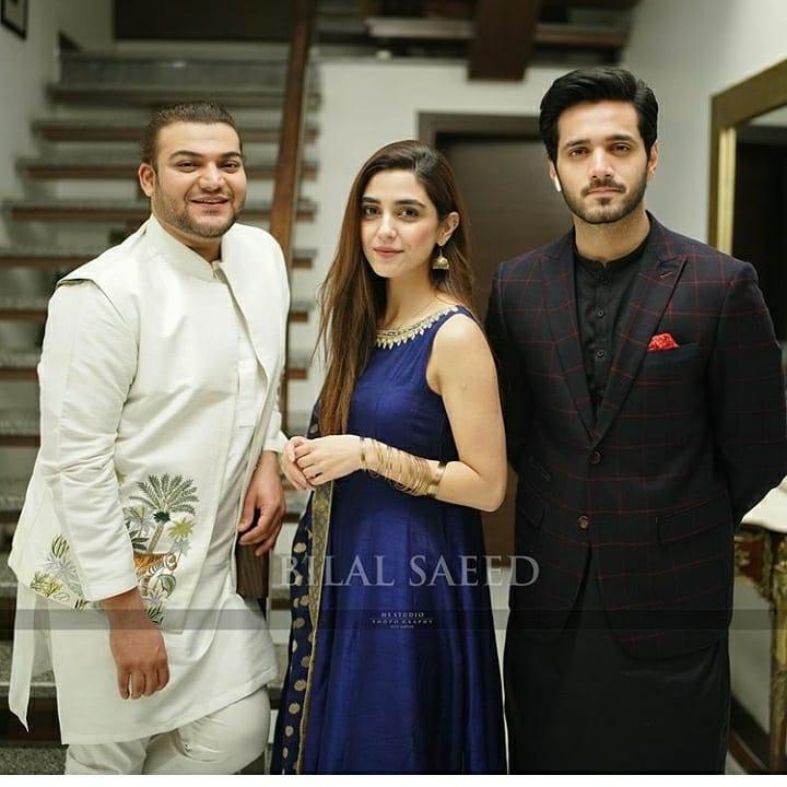 Maya Ali Brother Afnan Qureshi Dholki Function Pictures
