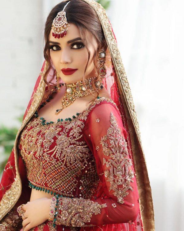 New Bridal Photoshoot of Actress Kiran Haq