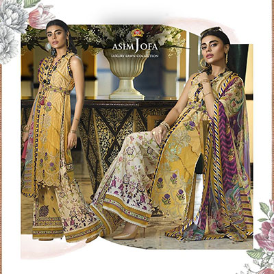 Asim Jofa New Fashion Dresses 2020