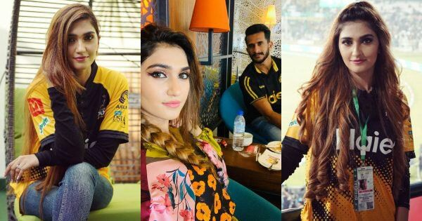 Cricketer Hasana Ali wife Samyah Khan Enjoying PSL