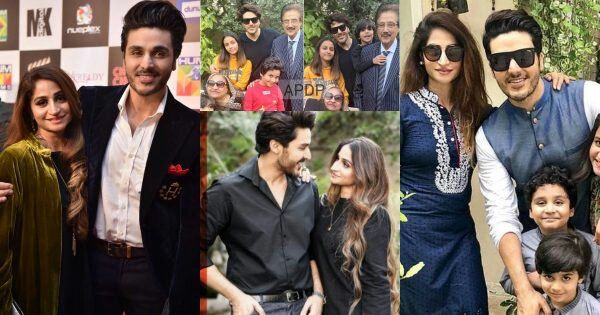 Ahsan Khan's Beautiful Pictures With His Wife, Parents And Kids