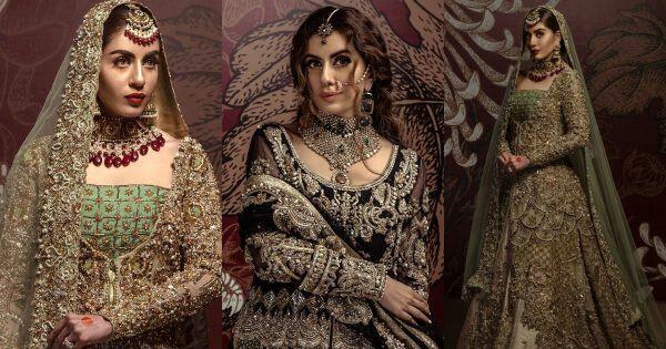 Awesome Actress Sadia Faisal New Bridal Photoshoot