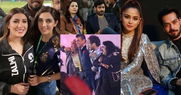 Celebrities Pictures from Opening Ceremony of Pakistan Super League 2020