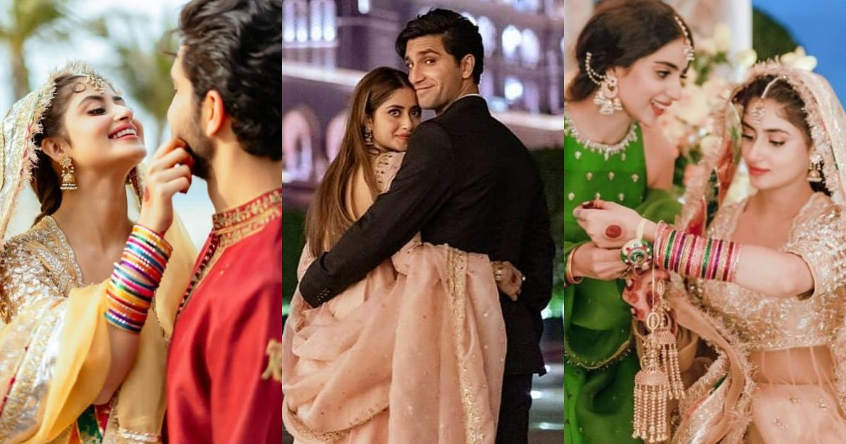 Sajal and Ahad New Pictures after Wedding
