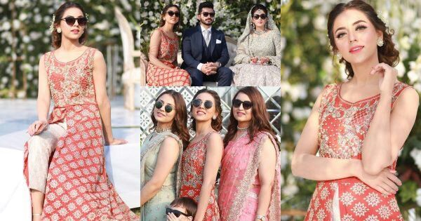 Beautiful Actress Mariam Noor at the Wedding Reception of her Friend