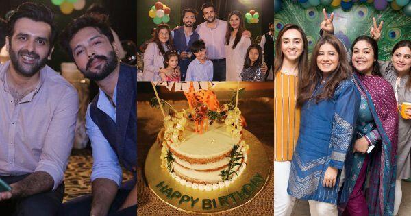 Fahad Mustafa Daughter Fatima Birthday Party Clicks