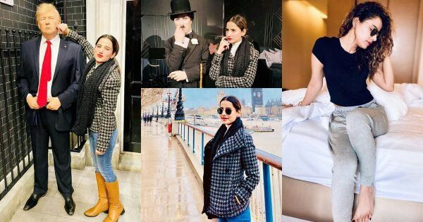 Latest Pictures of Actress Saniya Shamshad from London