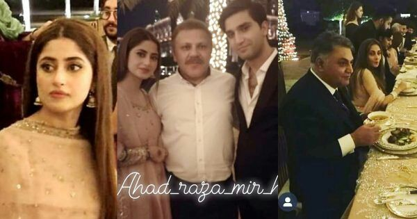 Sajal Aly And Ahad Raza Mir Post Nikah Dinner Pictures