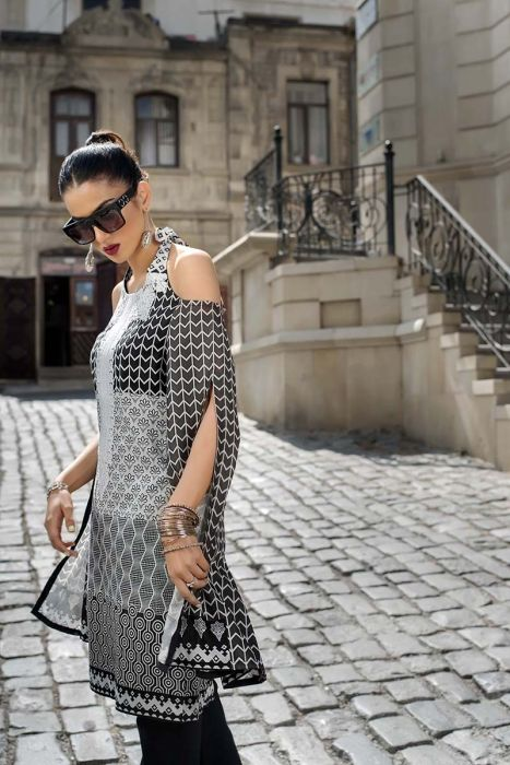 Black & White Lawn Suits 2020 by Gul Ahmed