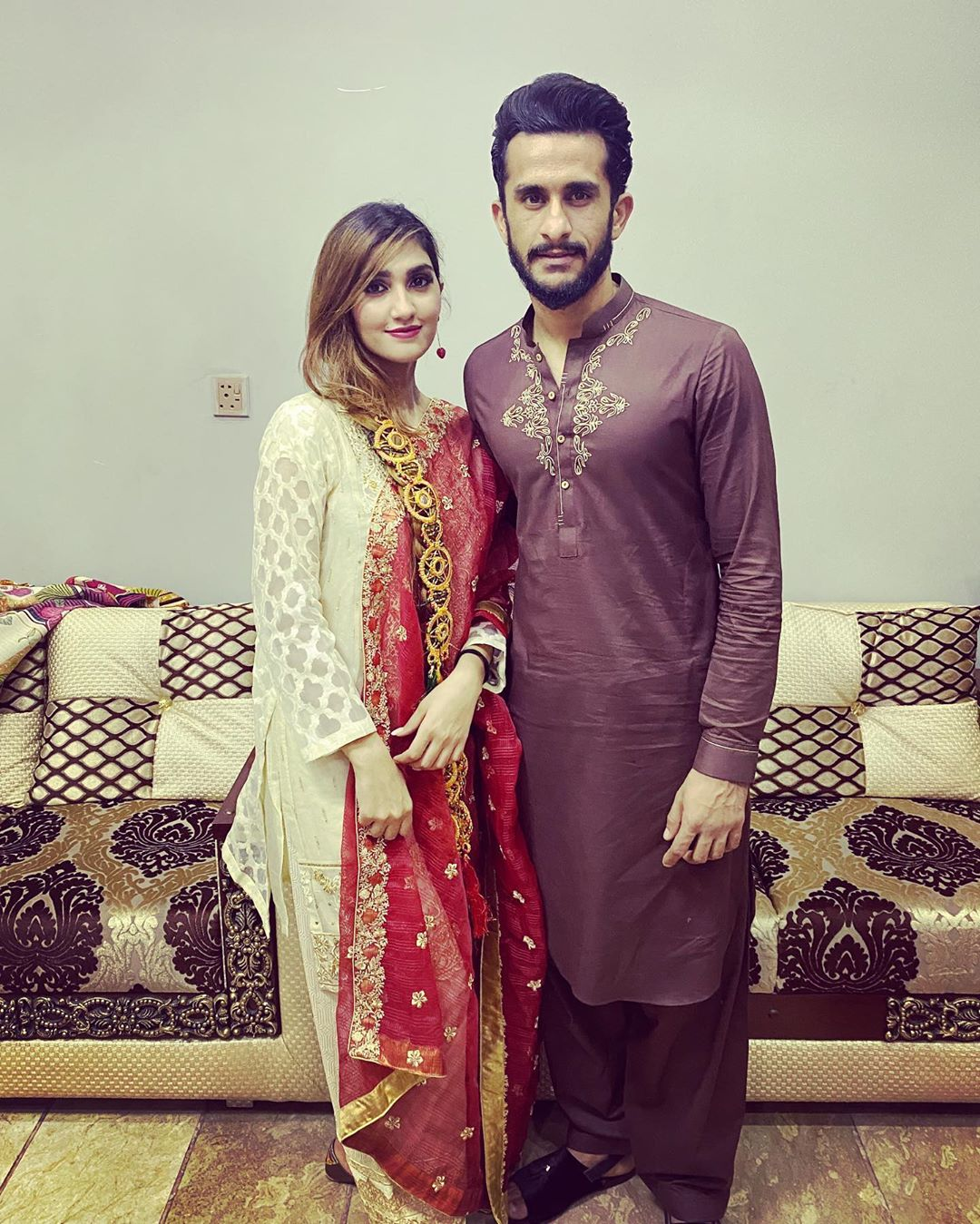 Happy Birthday to Cricketer Hassan Ali Wife Samyah - Beautiful Pictures