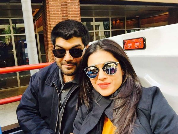 Awesome Clicks of Sanam Jung with her Husband and Daughter