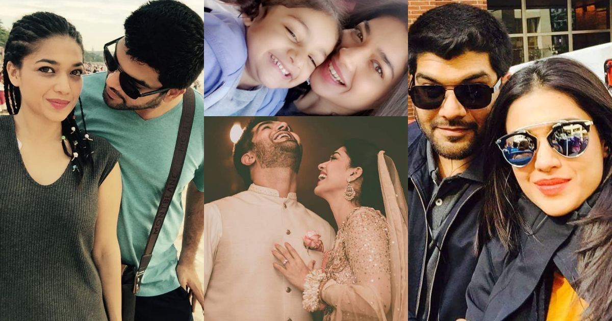 Beautiful Pictures of Sanam Jung with her Husband and Daughter