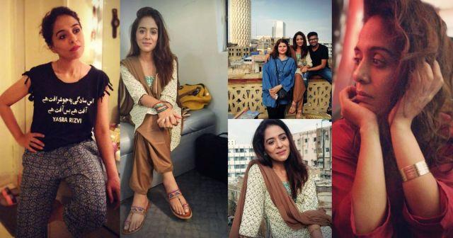 New Clicks of Actress Yasra Rizvi After Weight Loss