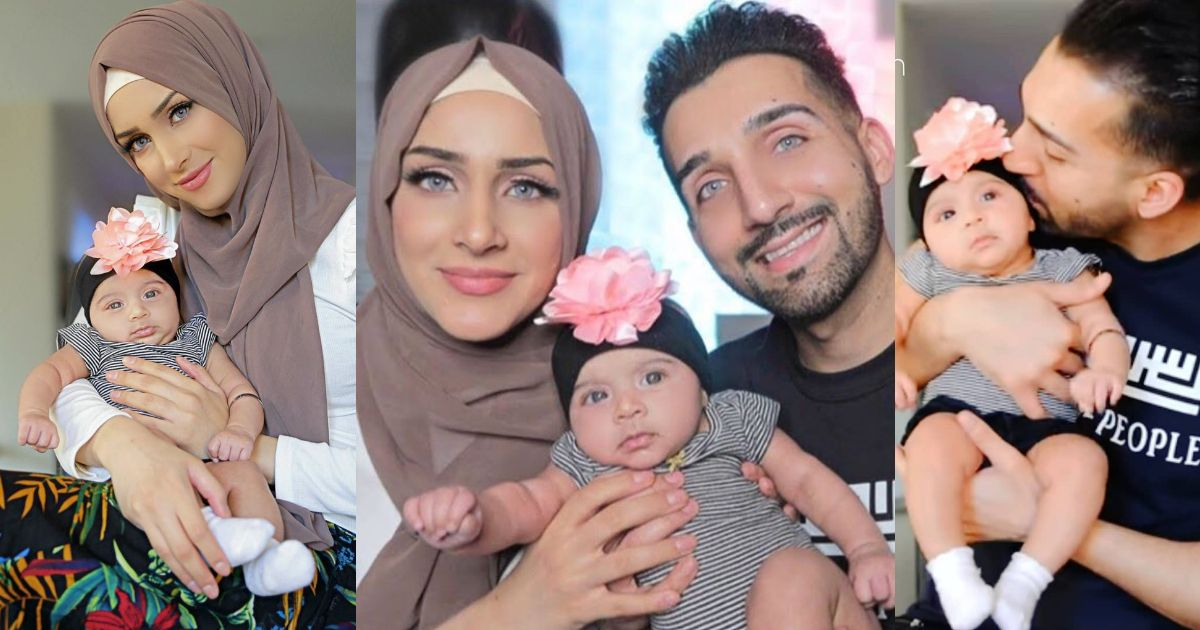 Beautiful Pictures of Sham Idrees and Froggy with their New Born Baby Girl