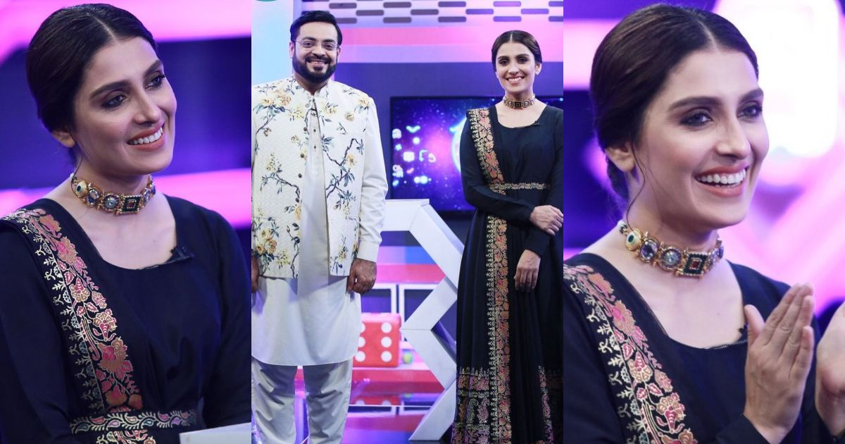 Beautiful Clicks of Ayeza Khan From Jeeeway Pakistan Show