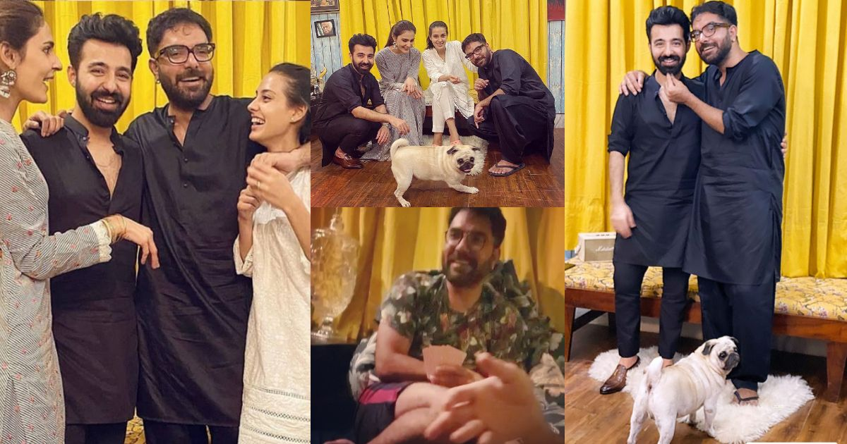 Latest Beautiful Pictures of Iqra Aziz and Yasir Hussain with Friends
