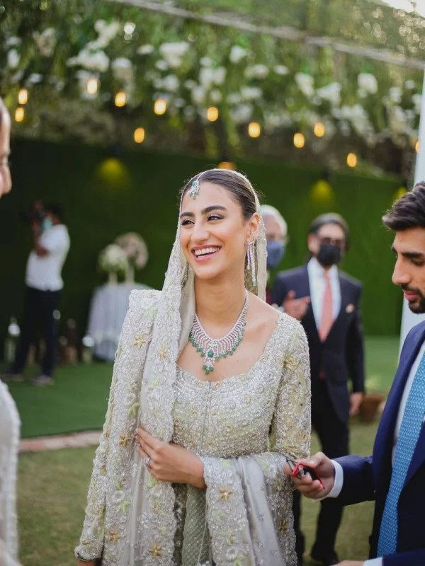 Model Rehmat Ajmal unseen Walima Pictures