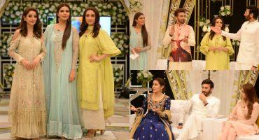 Amazing Pictures of Pakistani Celebrities on Eid Day 1