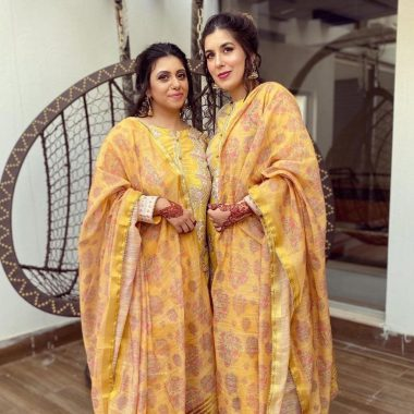 Rahim Pardesi Eid Pictures with his Two Wives and Kids