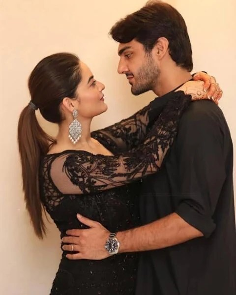 New Couple Minal Khan and Ahsan New Pictures