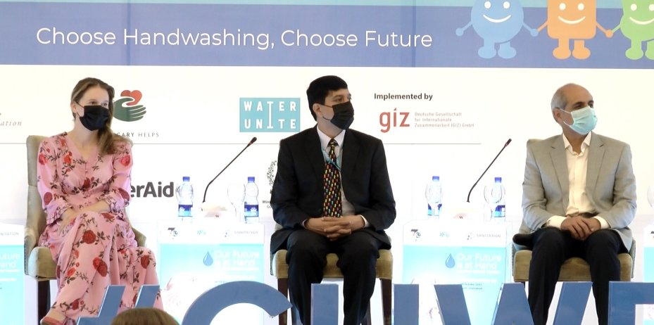 GIZ, UNICEF and Water Aid collaborated to celebrate Global handwashing day