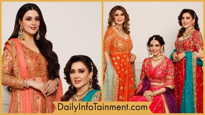 Natasha Khalid Gorgeous Family Photoshoot