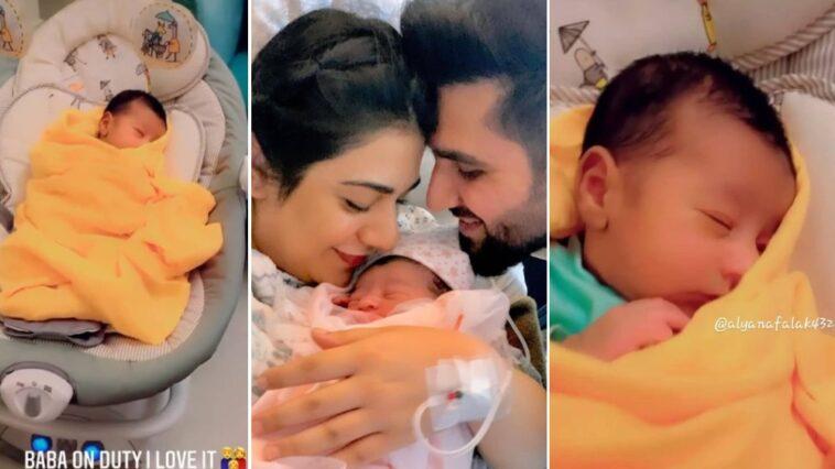 Sarah Khan shares cute video of her daughter