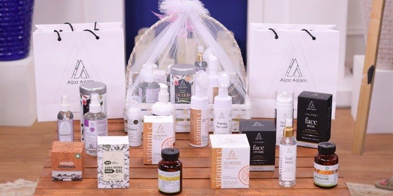 Aijaz Aslam introduces new range of products to his personal care line