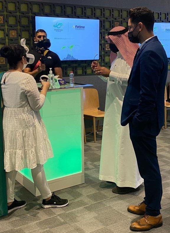 Fatima Fertilizer addresses climate change at Expo 2020 Dubai