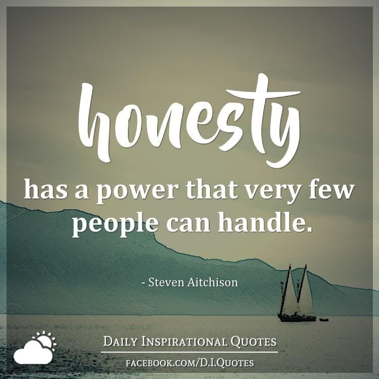 Power honesty
