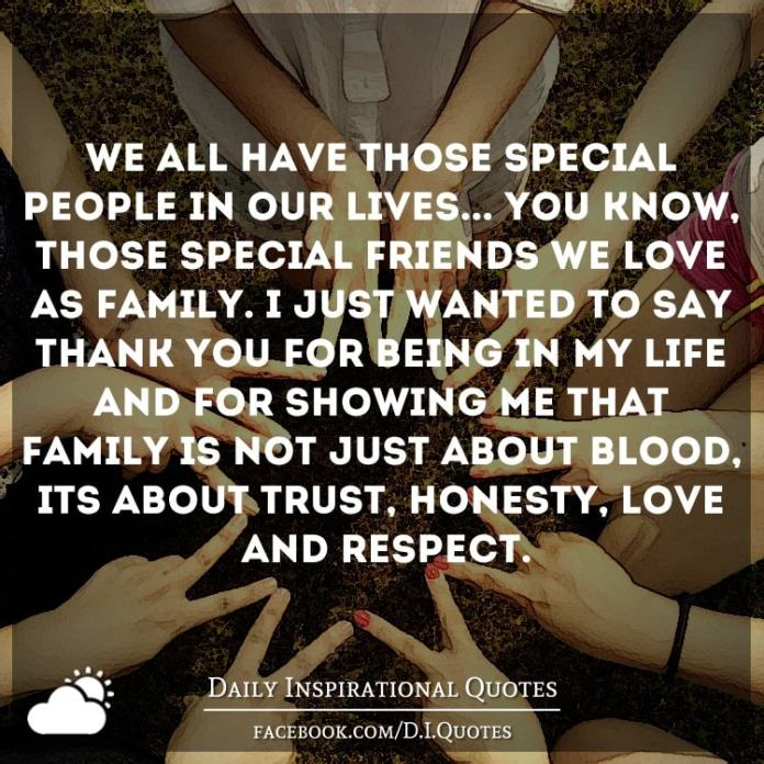 We All Have Those Special People In Our Lives You Know Those