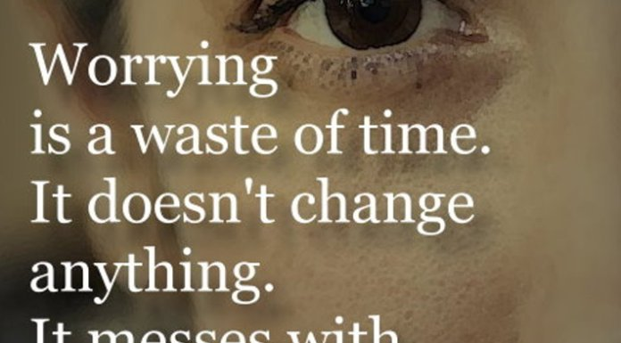 it doesnt change anything it messes with your mind and steals your happiness ziad k abdelnour