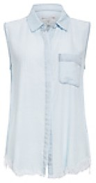 DL1961 N7th & Kent Sleeveless Chambray Shirt
